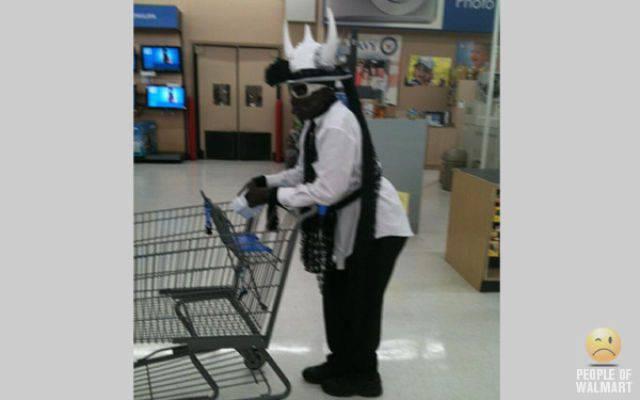 Najdziwniejsi klienci z WalMart #6 36