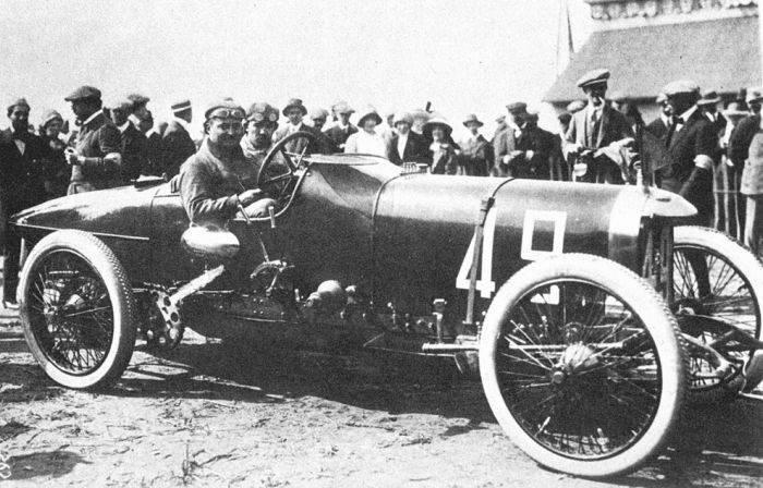 Pierwsze wyścigi samochodowe 24