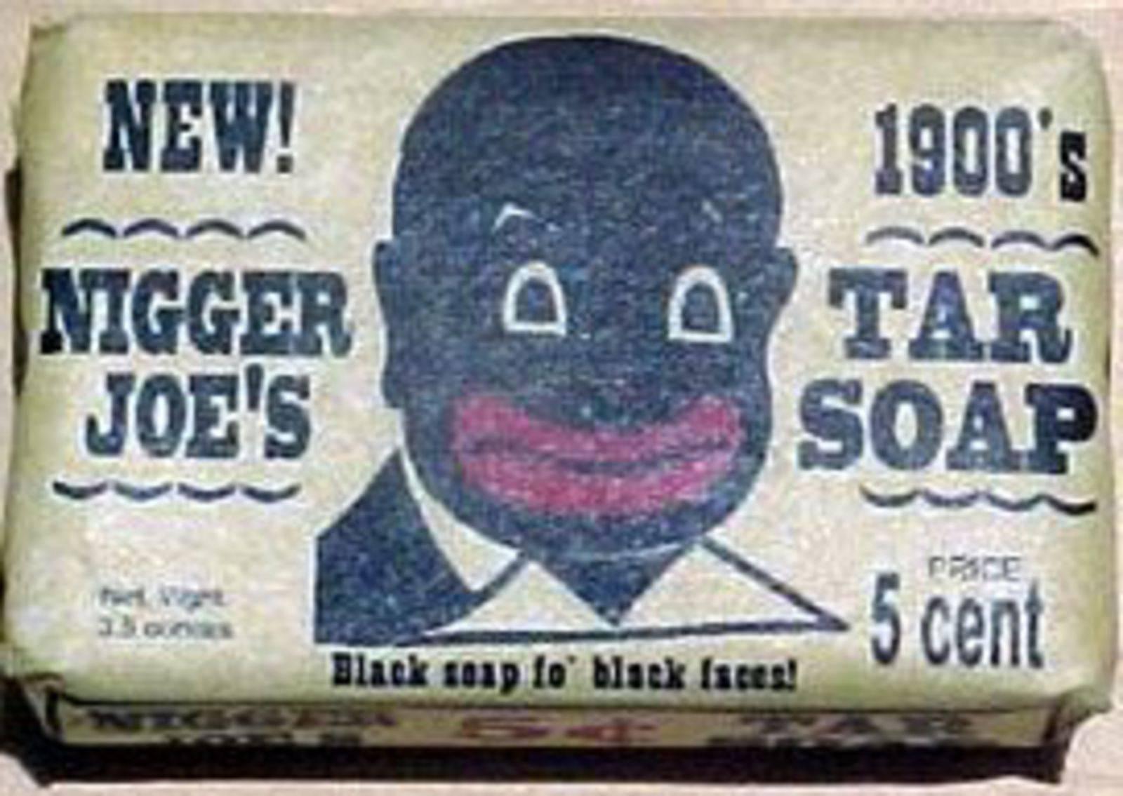 Publicidad y anuncios racistas de jabones