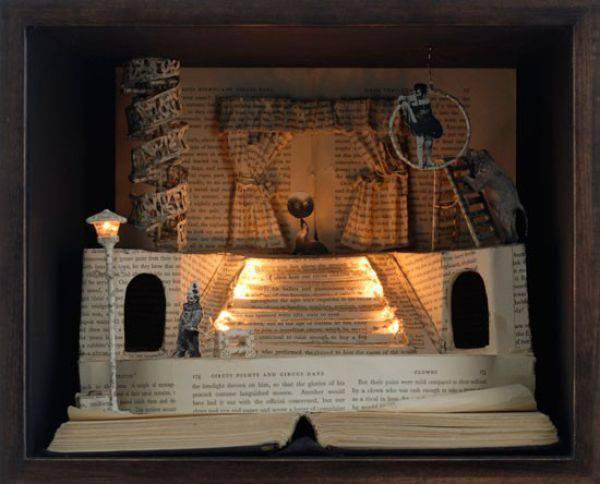 Rzeźby z książek. 26