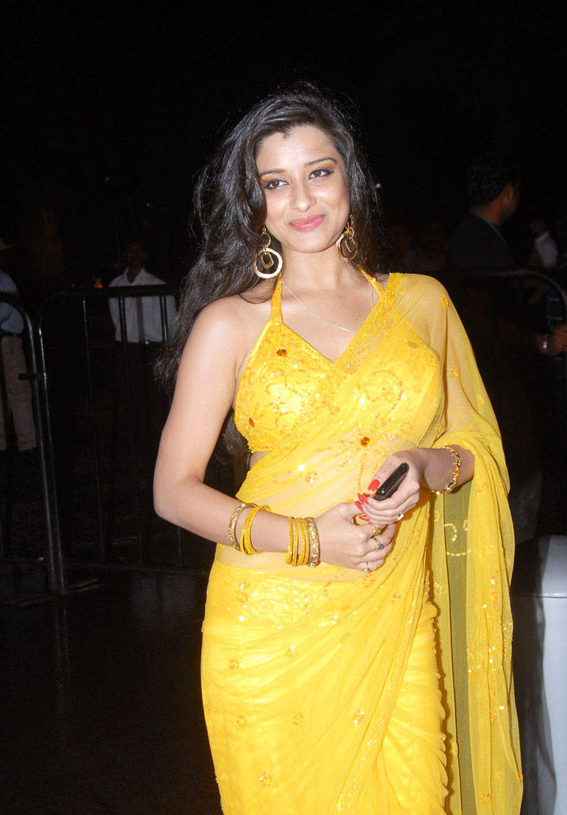 MADHURIMA GLORIUS STILLS IN SAREE AT SANTOSHAM AWARDS hot photos