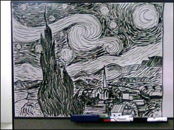 Sztuka na tablicy 9