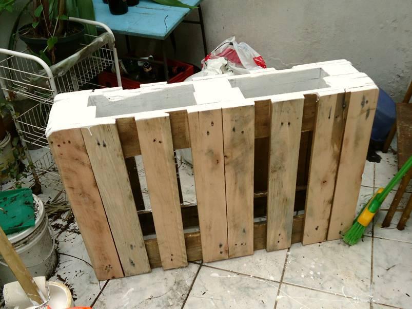 Como hacer una mesa con Palets