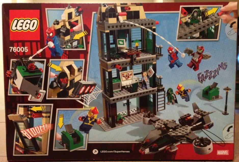 76005 Spider-Man Daily Bugle Showdown 1727846165cf8045986d98e57c67b435e1c36292