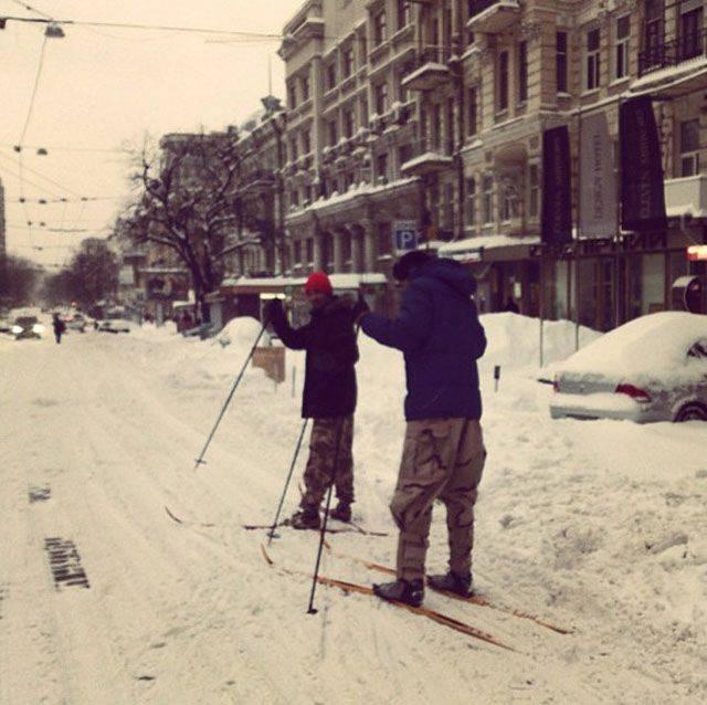 Atak zimy na Ukrainie 16