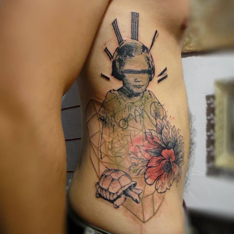 Tatuaże nieco inaczej 4
