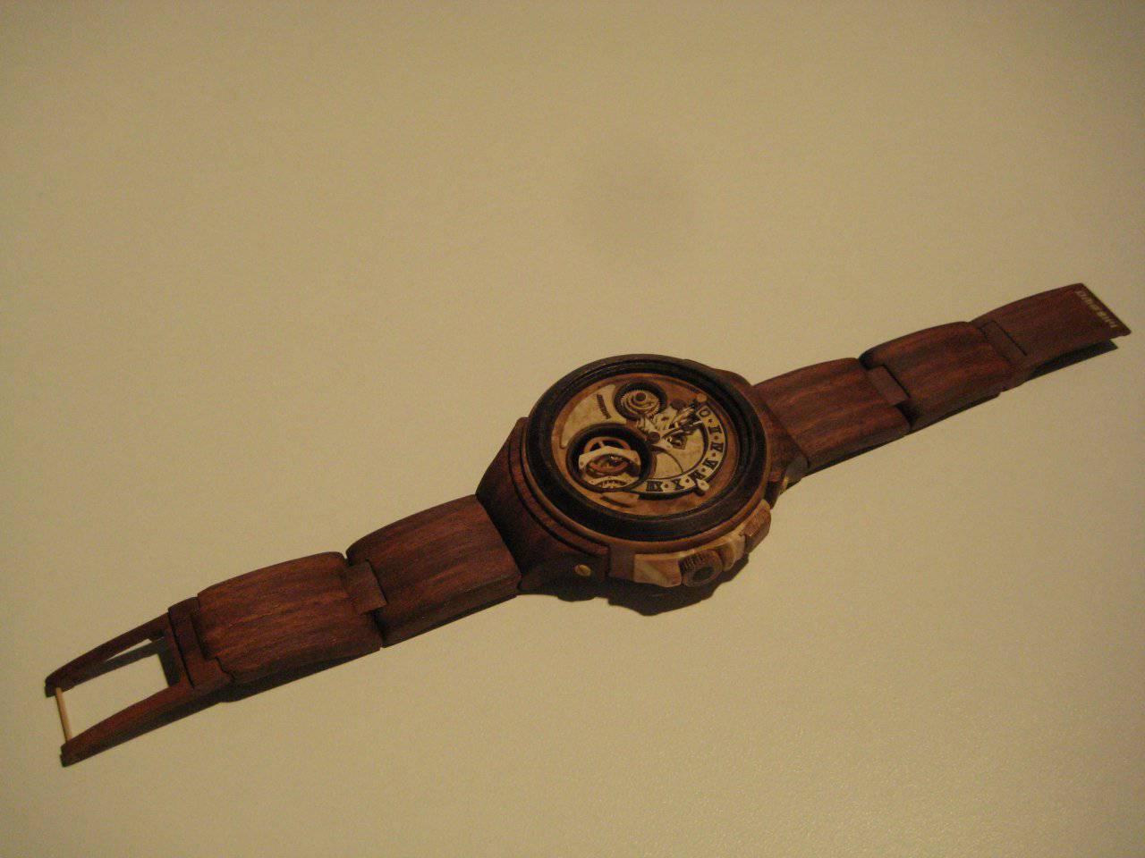 Zegarki z drewna 25