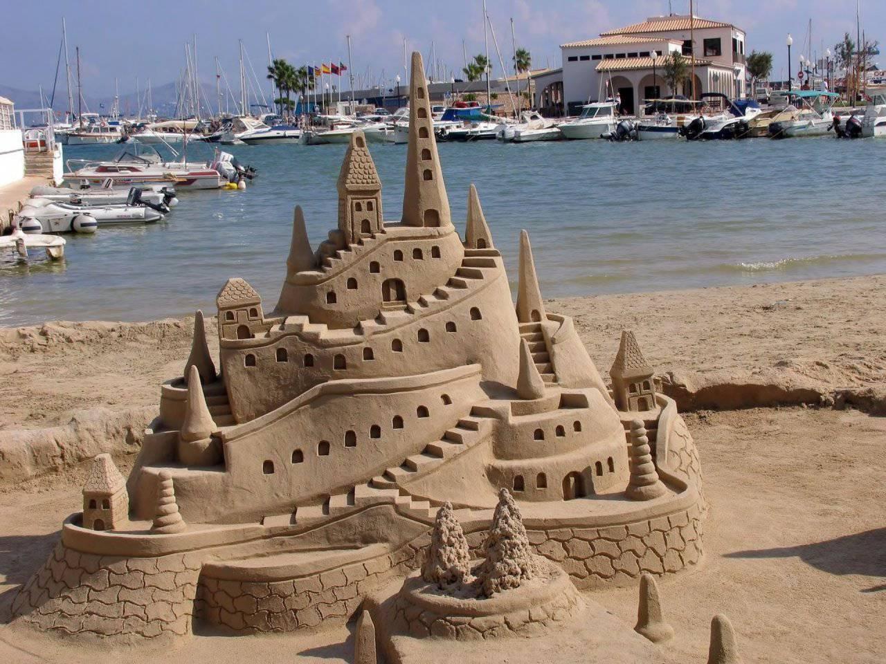 Rzeźby z piasku #6 4