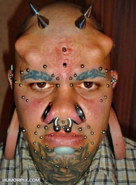 Ekstremalne tatuaże 43