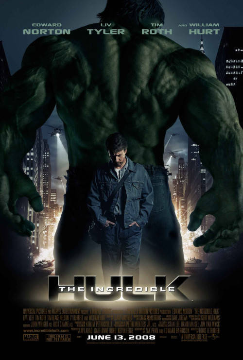 The Incredible Hulk (2008) DvDrip HebSub XviD - aXXo