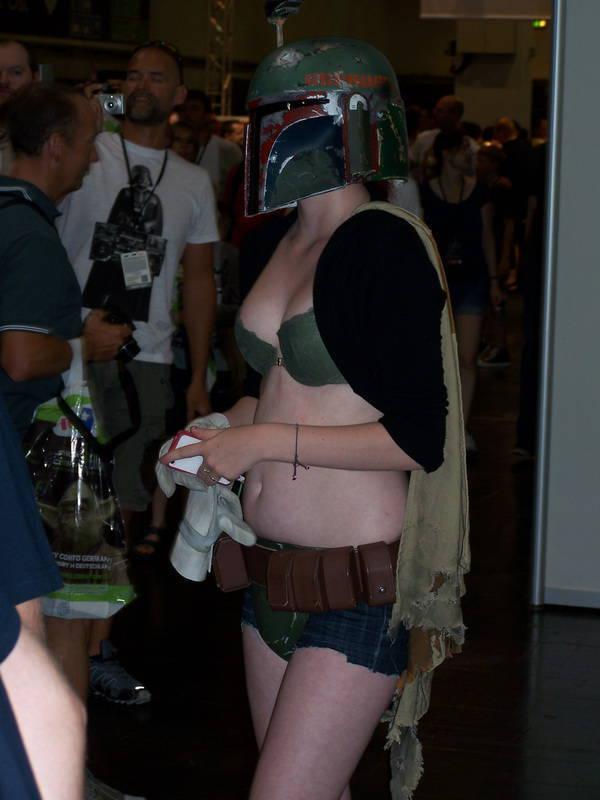 StarWars-Fans auf der Convention in Essen