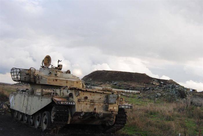 Wraki Wzgórz Golan 7
