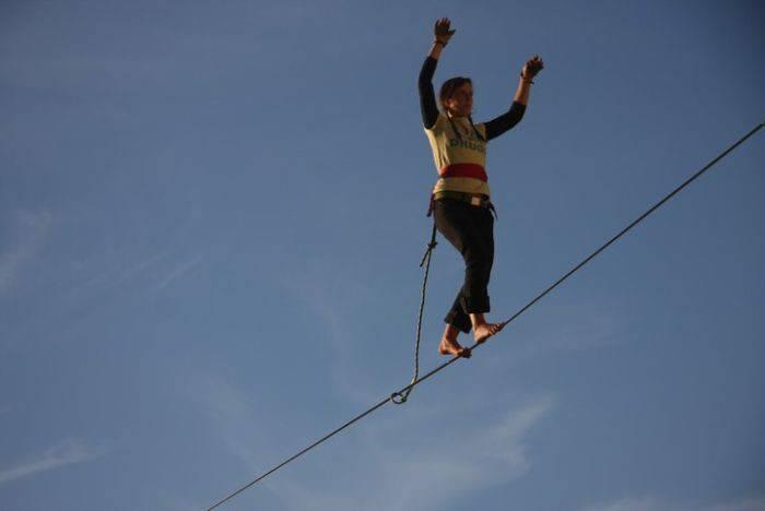 Faith Dickey - kobieta pozbawiona lęku wysokości 8