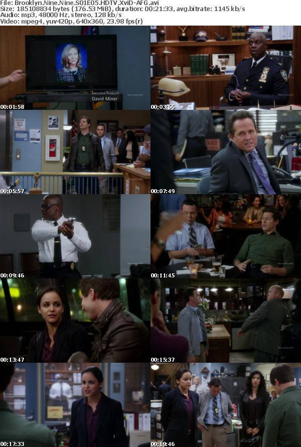 Brooklyn Nine Nine S01E05 HDTV XviD-AFG
