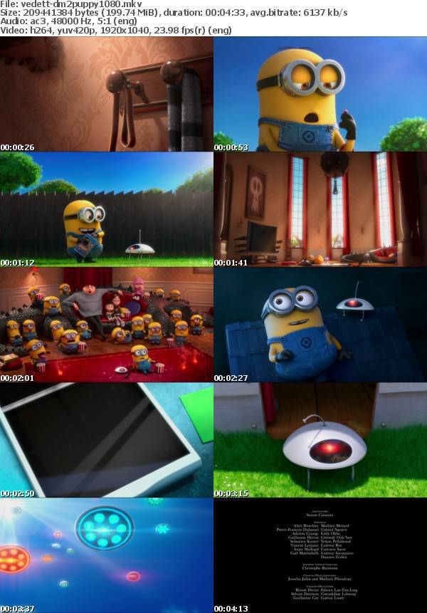 Despicable Me 2 Puppy Mini Movie 2013 1080p BluRay x264-VeDeTT