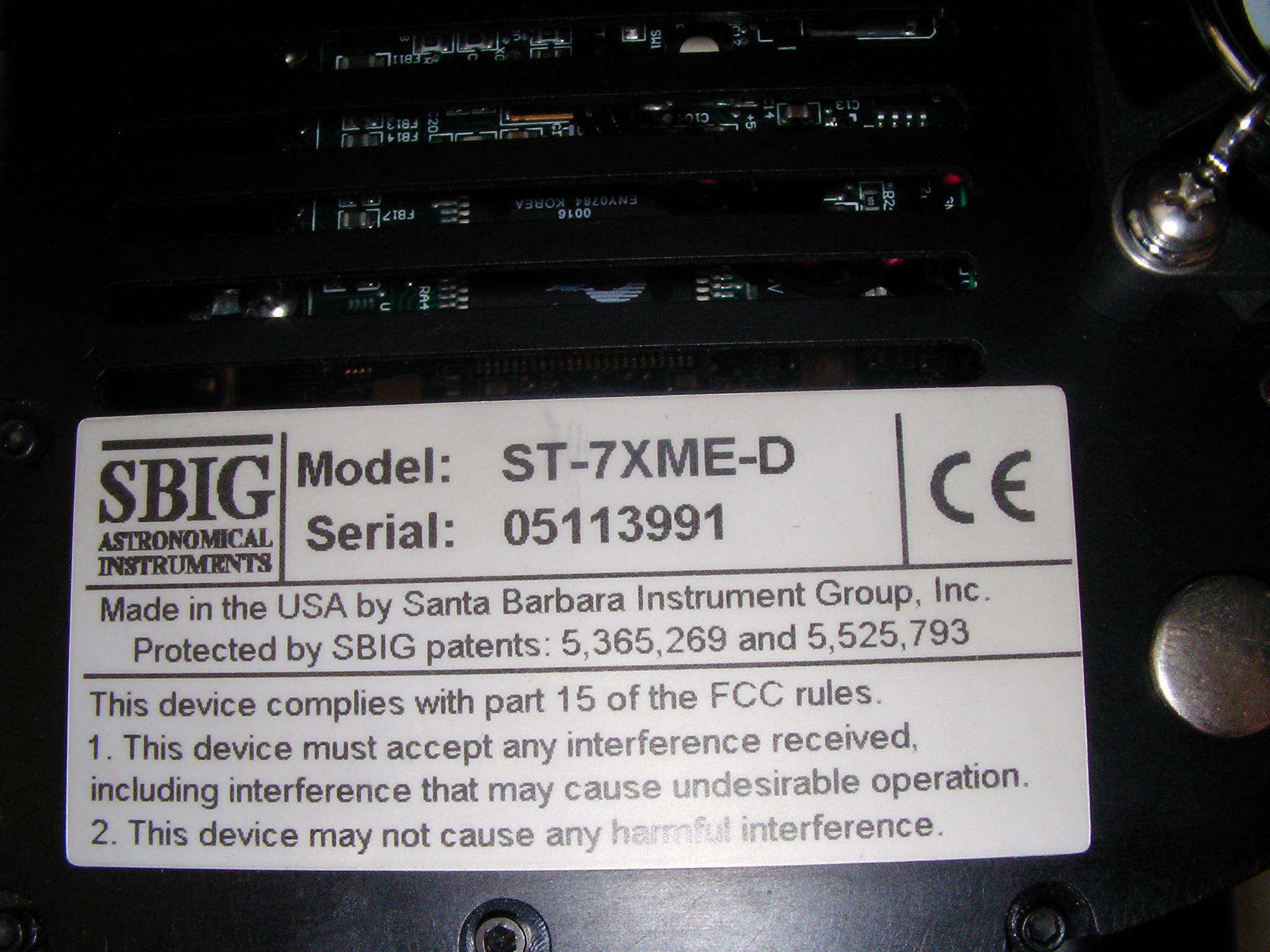 CCD ST-7XME