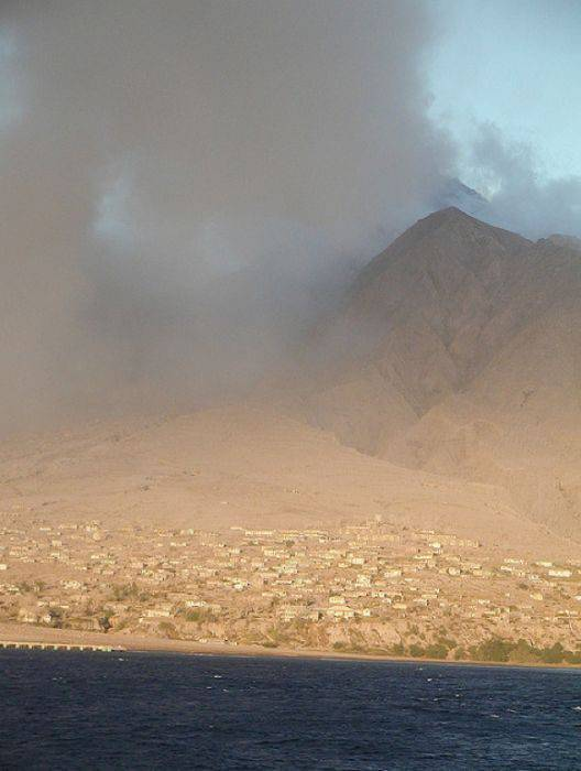 Miasto po erupcji wulkanu 31