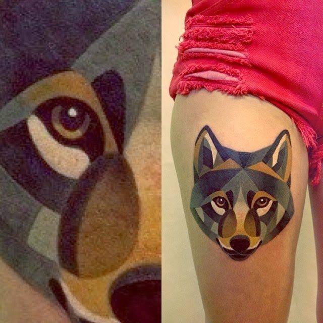 Świetne tatuaże - Sasha Unisex 4