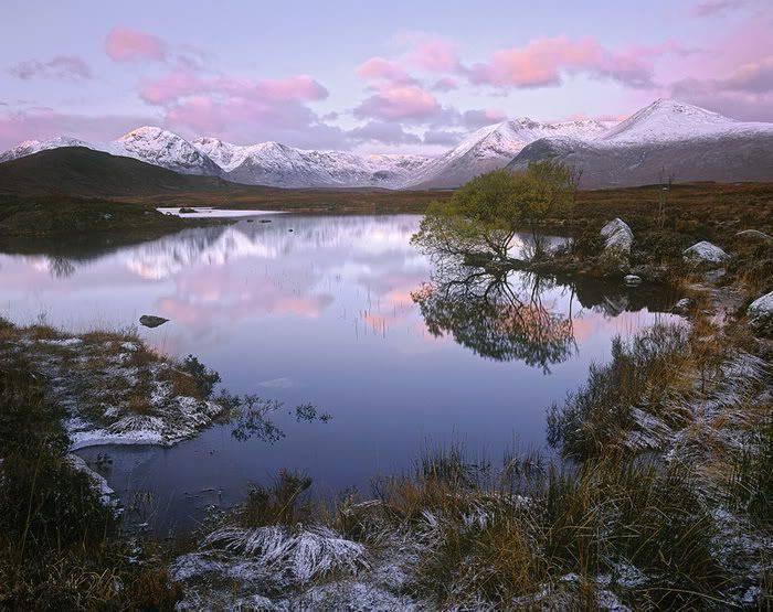 Góry w zimowej scenerii 7
