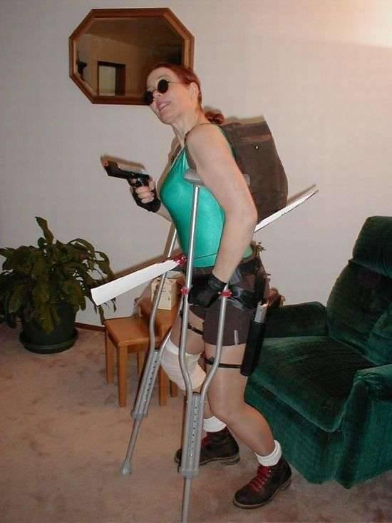Prawie jak Lara Croft 8
