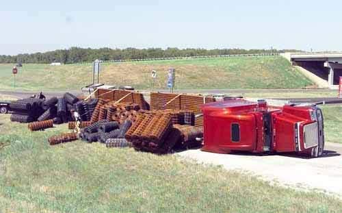 Wypadki ciężarówek 16