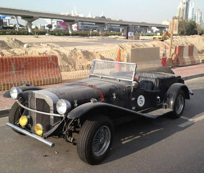 Opuszczone samochody Dubaju 34