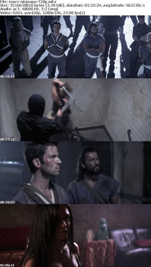 Ninja Apocalypse 2014 720p BluRay x264-NOSCREENS