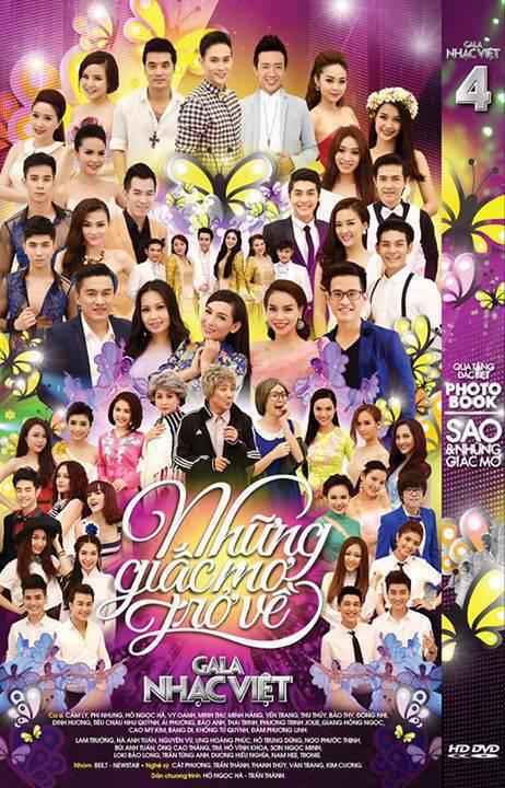 Gala Nhạc Việt - Những Giấc Mở Trở Về 2014 2 DVD5/DVD9/ISO/DVDRip