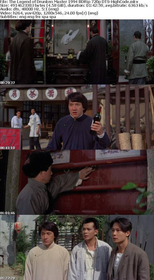 The Legend of Drunken Master 1994 BDRip 720p DTS-HighCode
