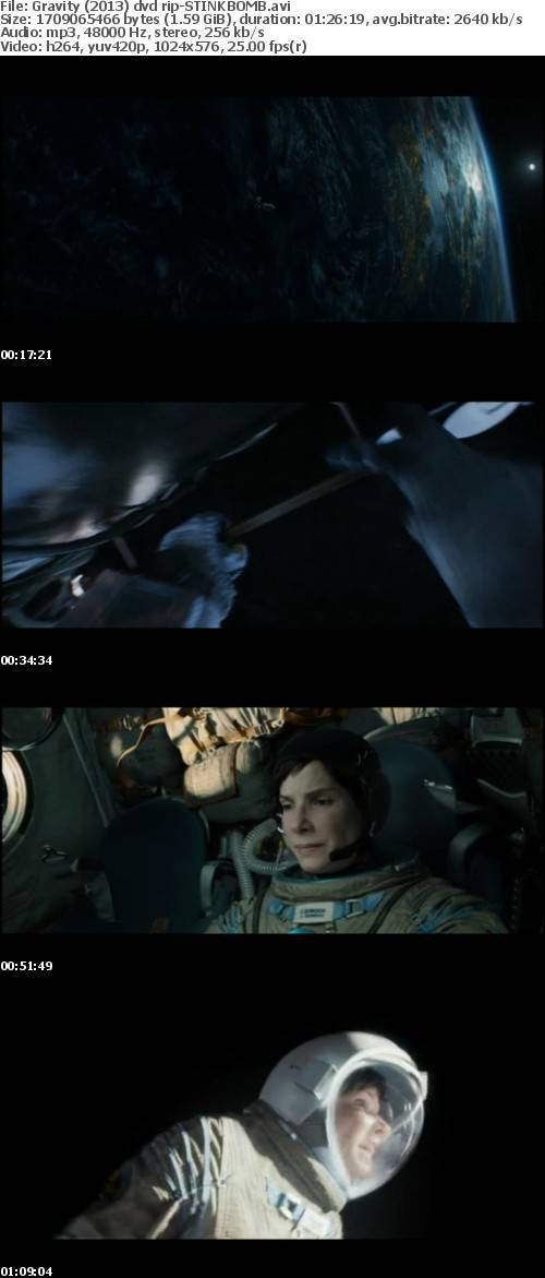 Gravity (2013) dvd rip-STINKBOMB