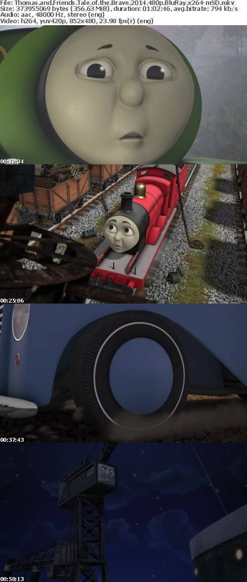 Thomas and Friends Tale of the Brave 2014 480p BluRay x264-mSD