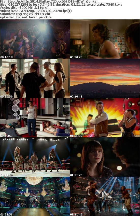 Step Up All In 2014 BluRay 720p x264 DTS-HDWinG