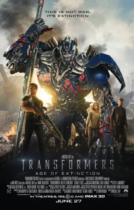 Transformers Age of Extinction 2014 DVDRip XViD AC3 CrEwSaDe