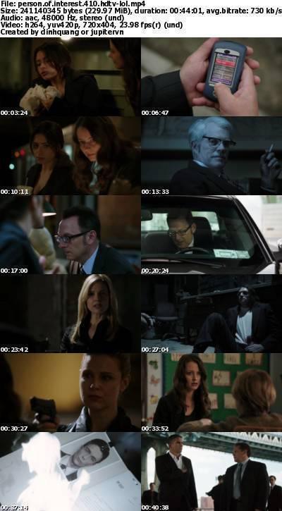 Person of Interest S04E10 HDTV x264-LOL