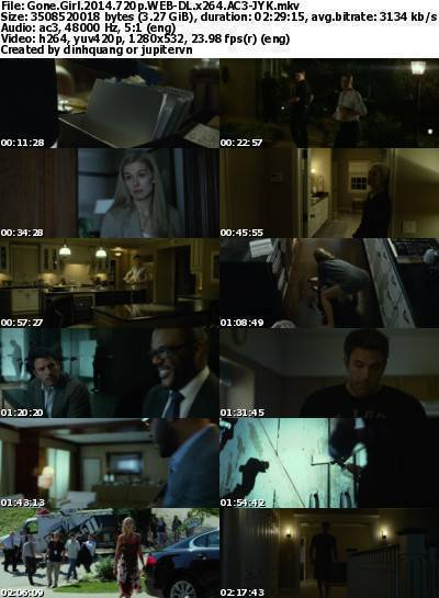 Gone Girl (2014) 720p WEB-DL x264 AC3-JYK