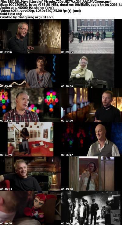 BBC - Rik Mayall: Lord of Misrule (2014) 720p HDTV x264 AAC-MVGroup