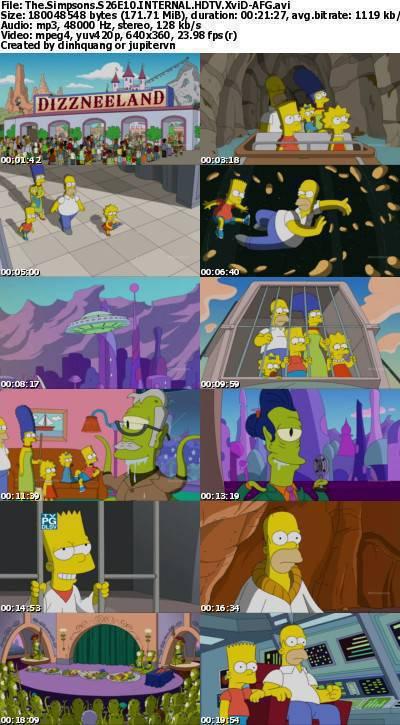 The Simpsons S26E10 INTERNAL HDTV XviD-AFG