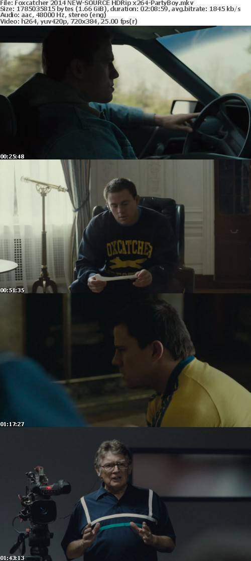 Foxcatcher 2014 NEW-Source HDRip x264-PartyBoy