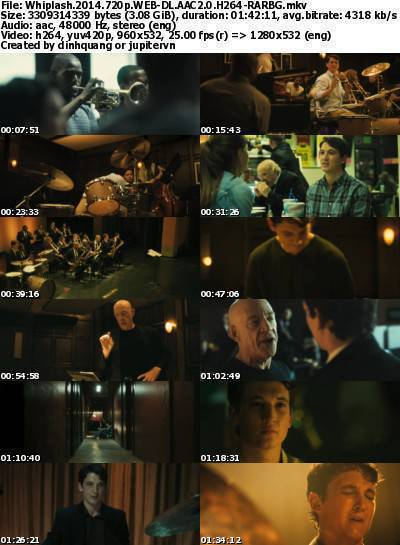 Whiplash (2014) 720p WEB-DL AAC2.0 H264-RARBG