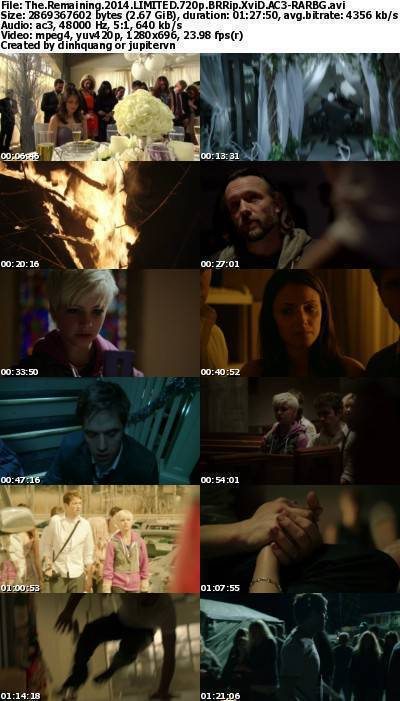 The Remaining (2014) LIMITED 720p BRRip XviD AC3-RARBG