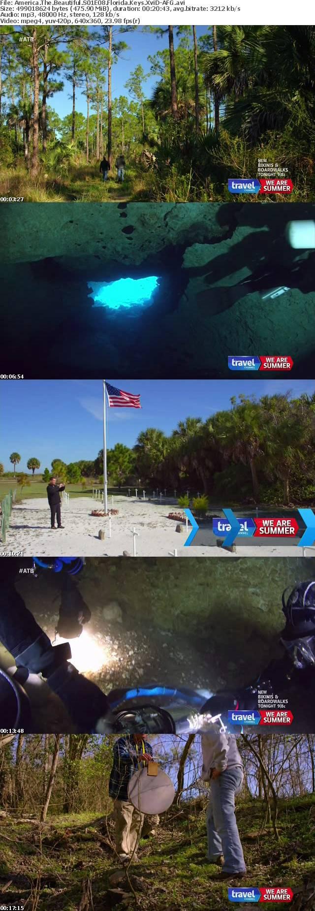 America The Beautiful S01E08 Florida Keys XviD-AFG