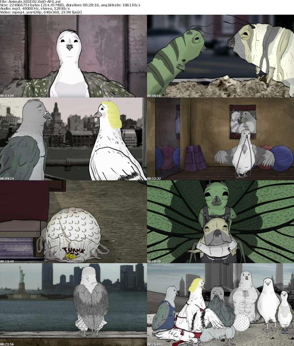 Animals S01E02 XviD-AFG
