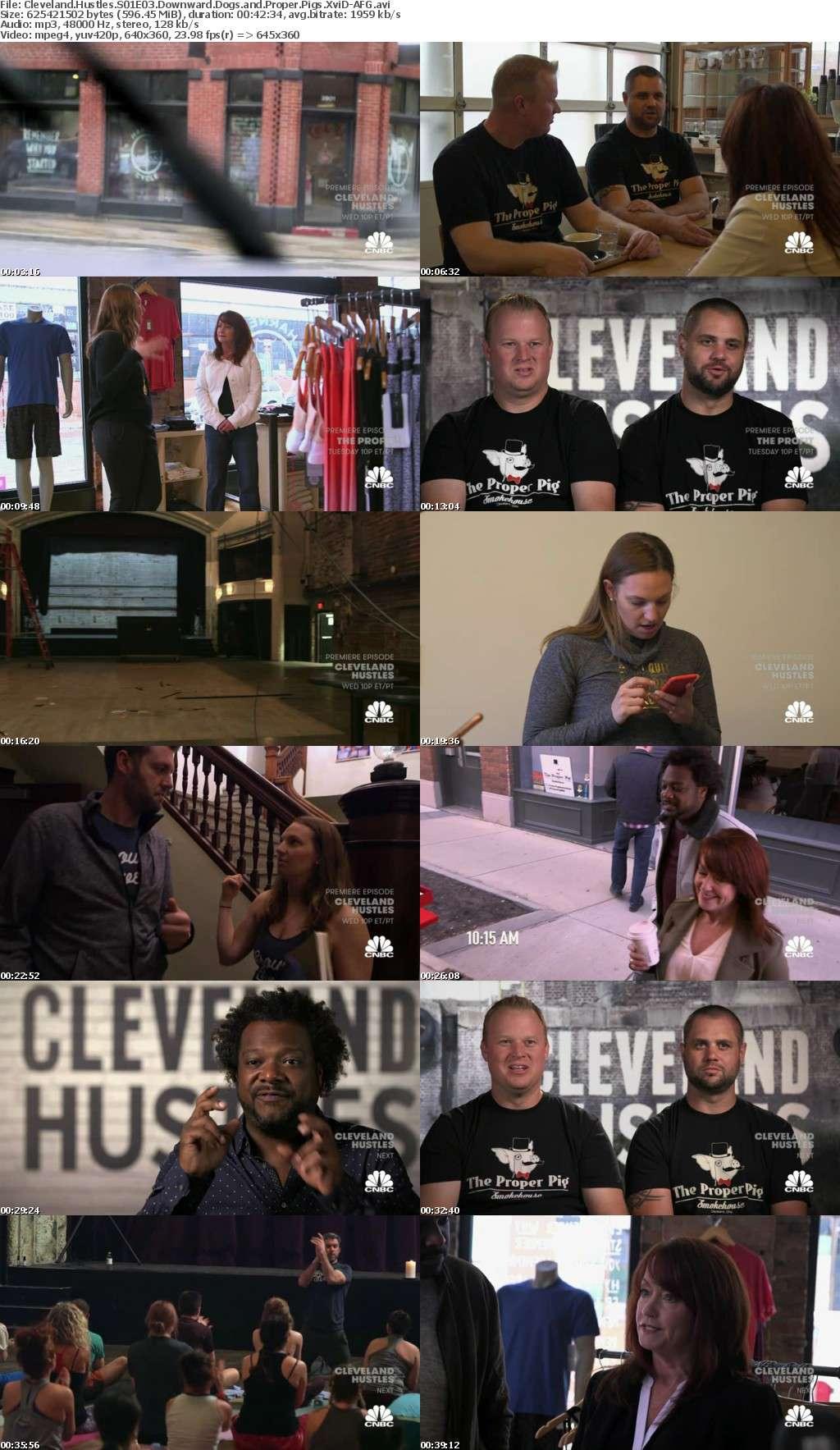 Cleveland Hustles S01E03 Downward Dogs and Proper Pigs XviD-AFG