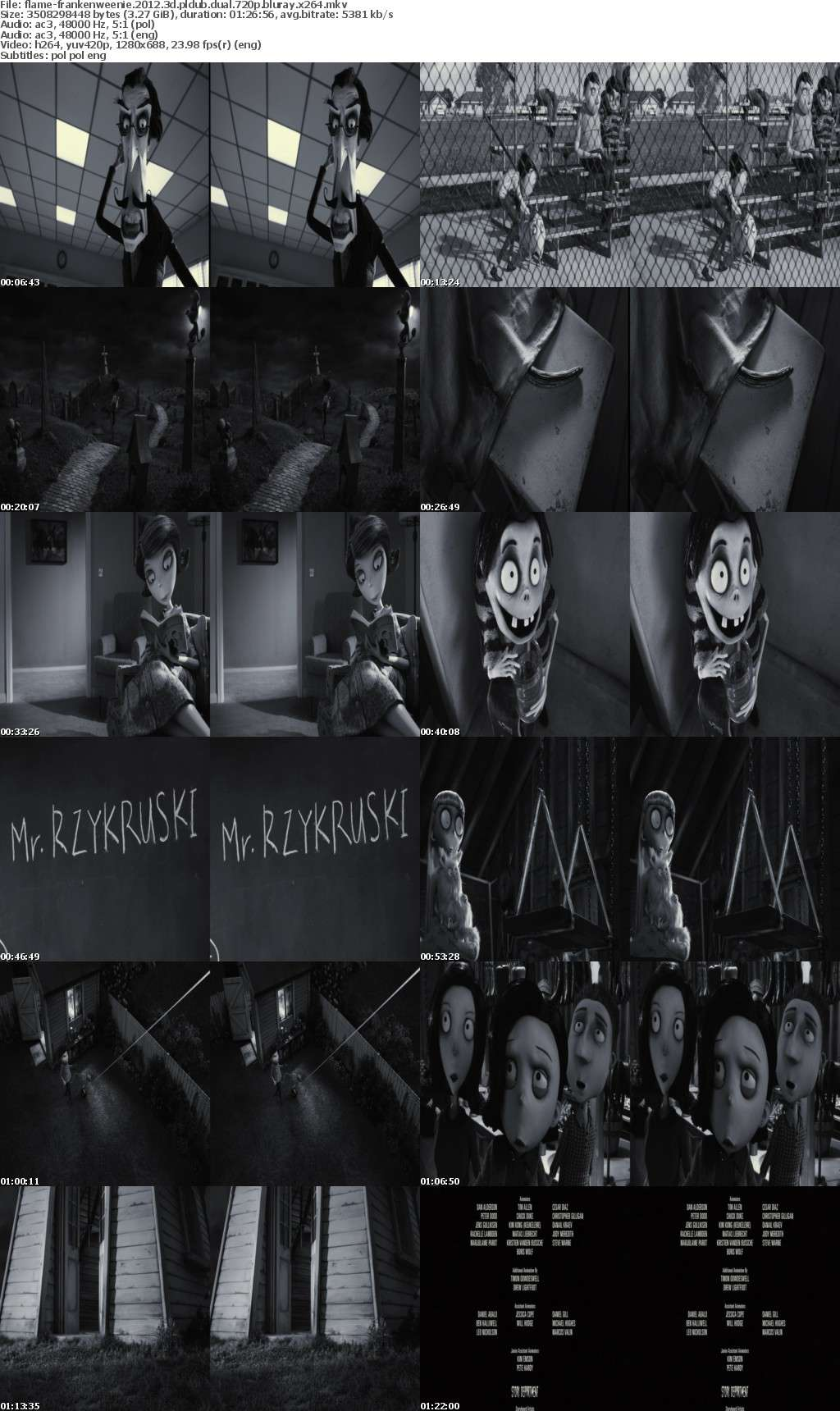 Frankenweenie 2012 3D PLDUB DUAL 720p BluRay x264-FLAME