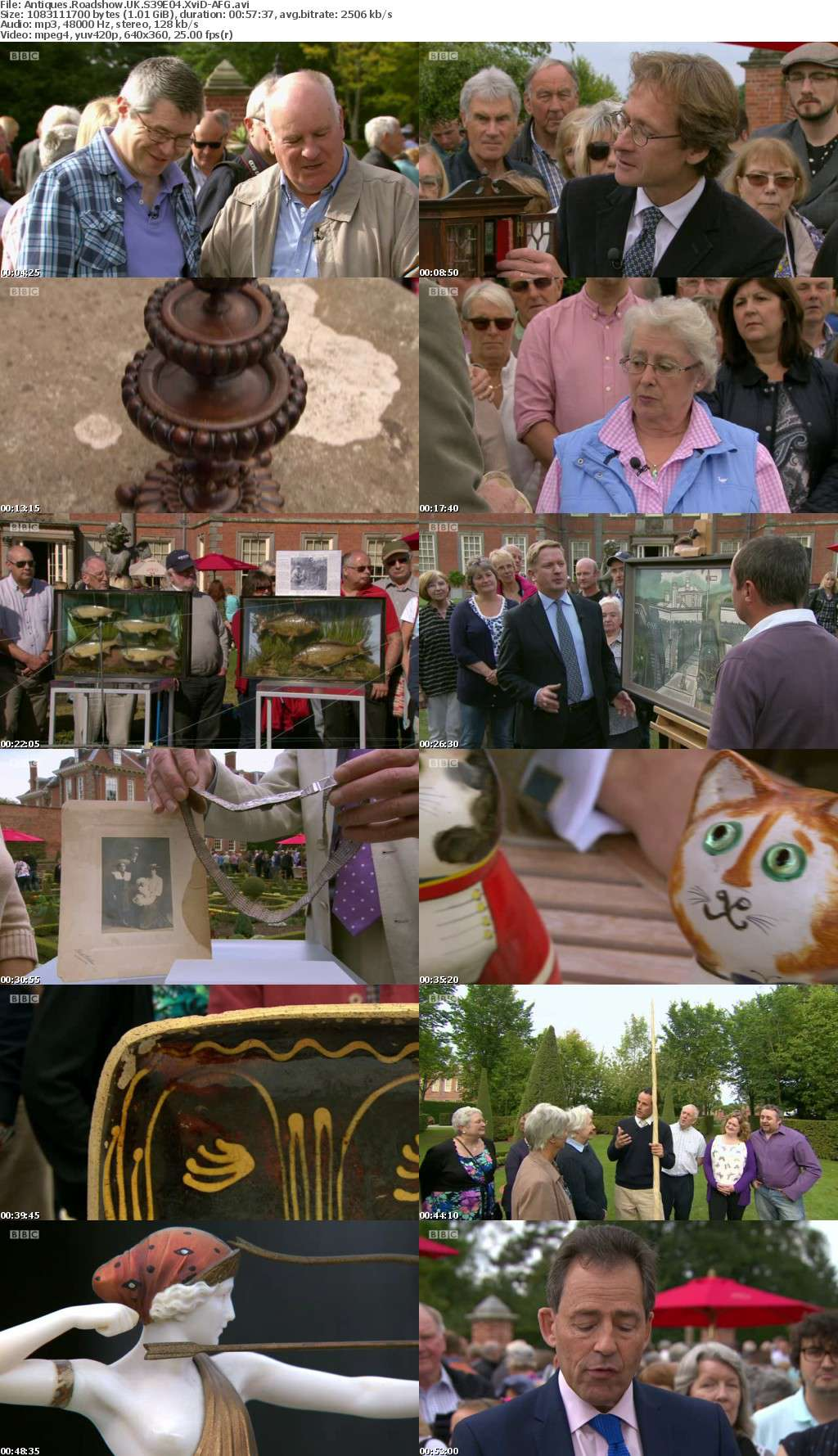 Antiques Roadshow UK S39E04 XviD-AFG