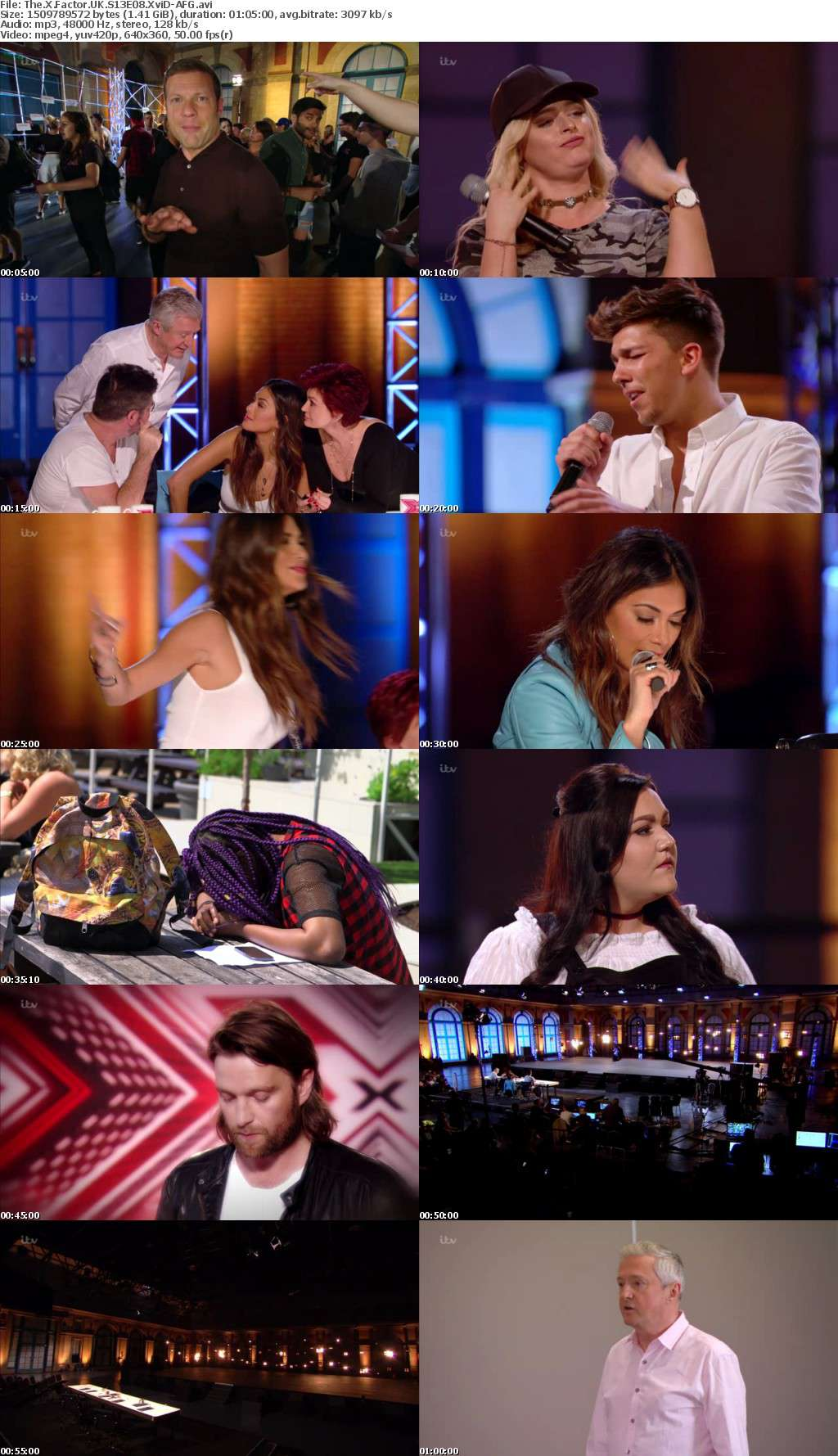 The X Factor UK S13E08 XviD-AFG