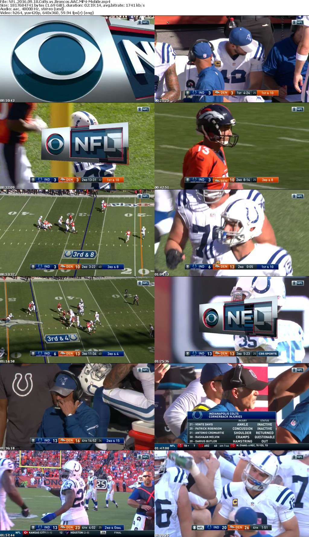 NFL 2016 09 18 Colts vs Broncos AAC-Mobile