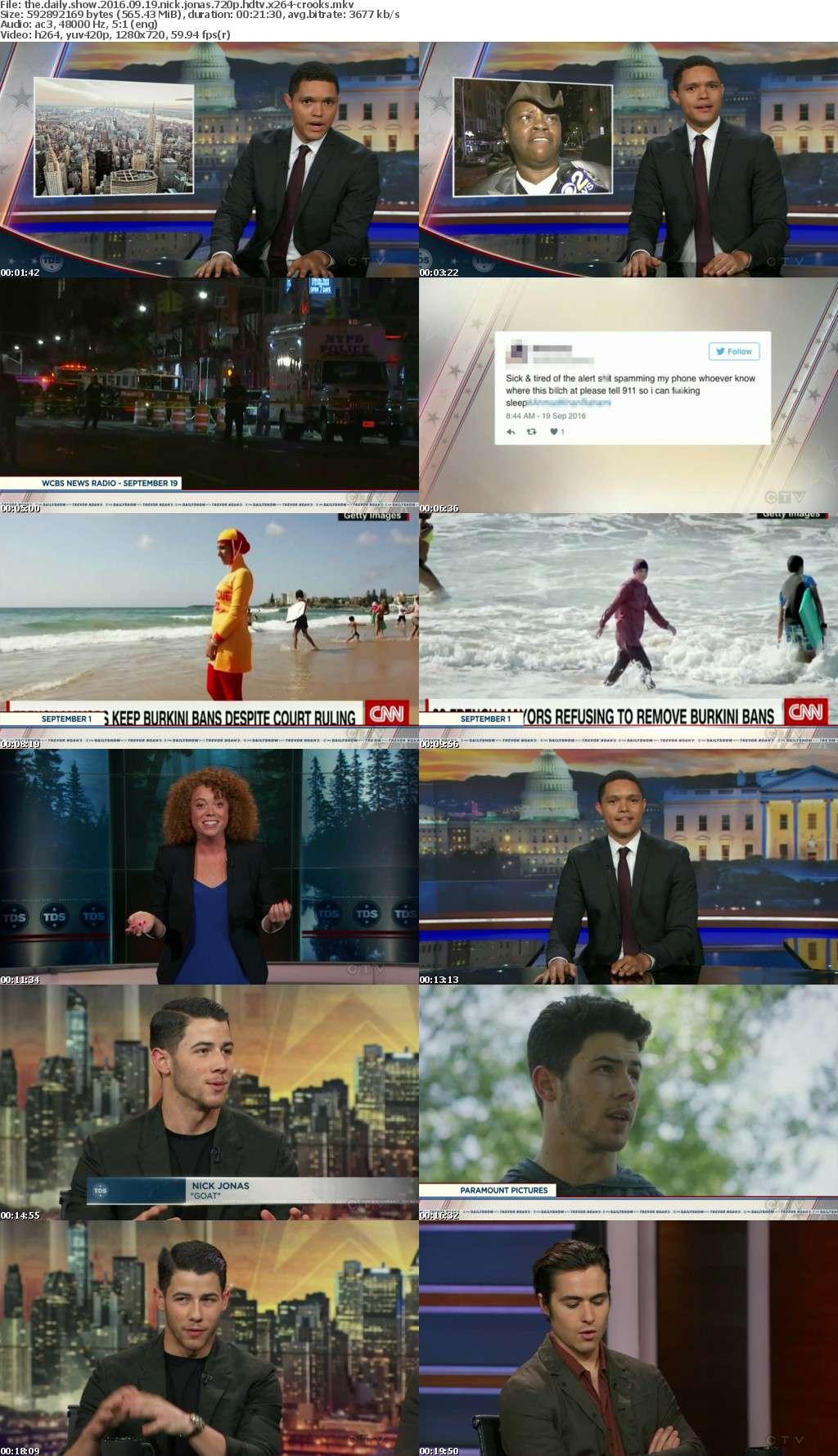 The Daily Show 2016 09 19 Nick Jonas 720p HDTV x264-CROOKS