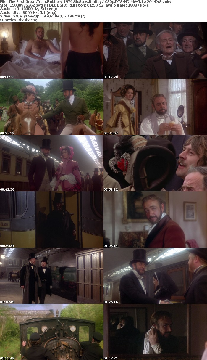 The First Great Train Robbery 1979 BluRay 1080p DTS-HD MA-5 1 x264-DrSi