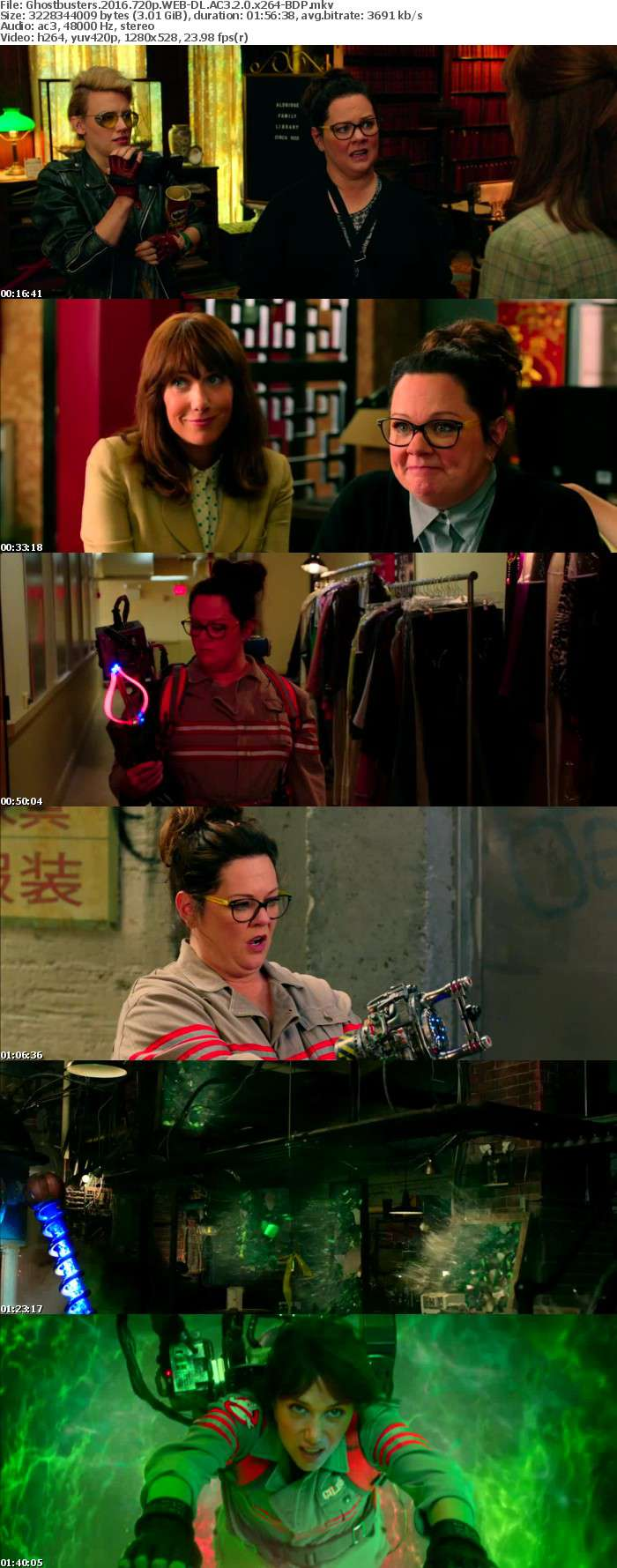 Ghostbusters 2016 720p WEB-DL AC3 2 0 x264-BDP